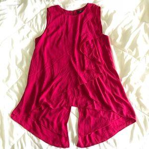Bcbg Maxazria fushia pink blouse Sz:XS